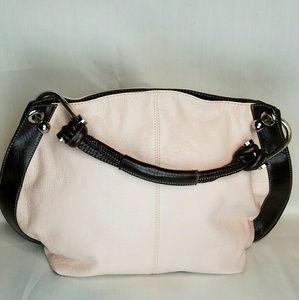 Handbags - Pink and Brown Handbag